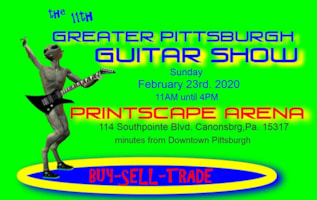 Greater Pittsburgh Guitar Show
