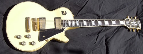 1976 Gibson Les Paul Custom original White finish Factory large frets Nice