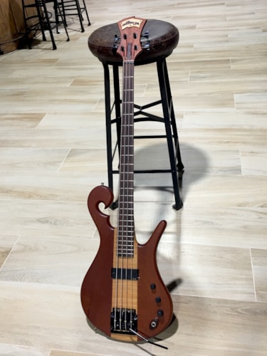 "2009 Carl Thompson 4-String 36"" Scale Bass w/a Kahler Tremolo."