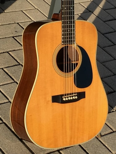 1981 Martin 7-28 rare 7/8th scale mini D-28 model