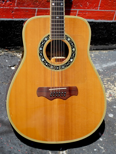 1979 Bozo 80S/12 12-string Jumbo Bell Shaped Top of the Line !