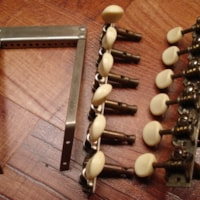 1930 Stella Regal 12 string Tuners / Tailpiece