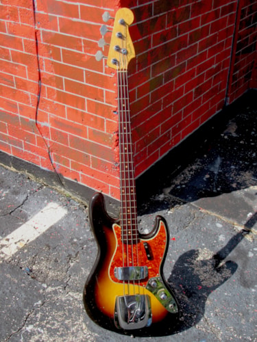 1960 Fender Jazz Bass Sunburst finish immaculate & all original 9/60