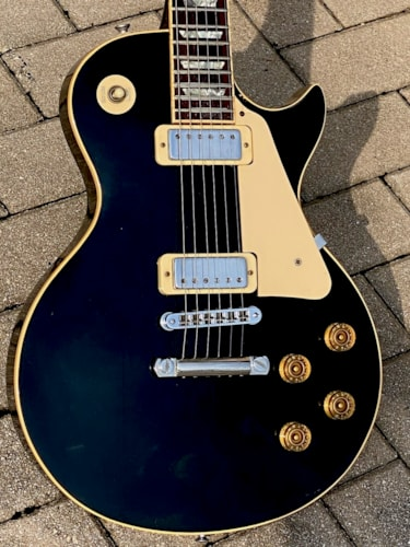 1980 Gibson Les Paul Deluxe Black finish