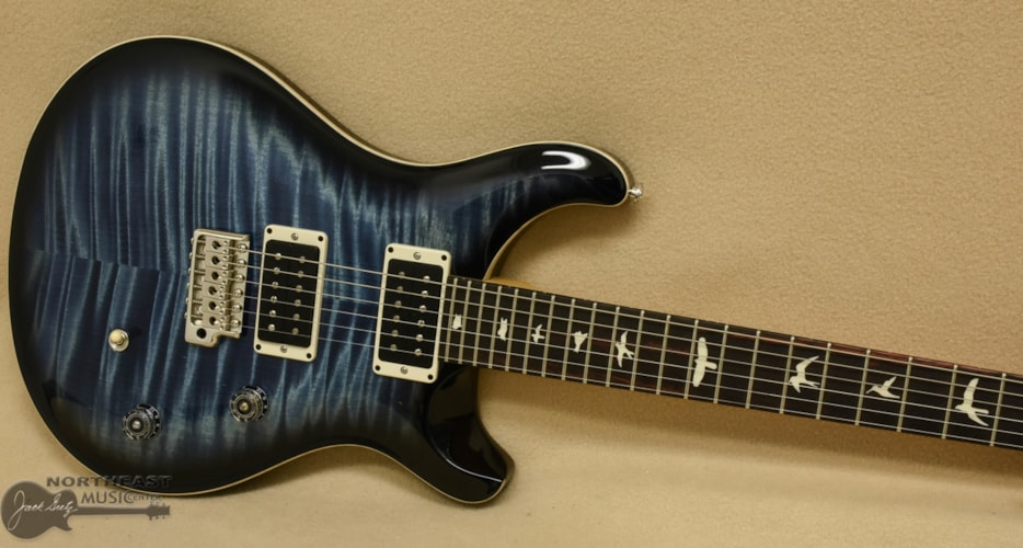 PRS CE 24 - Faded Whale Blue Smokeburst (S/N 1718)