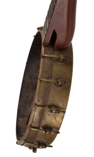 1880 Dobson Buckbee Butterfly Banjo Good, Soft, $795.00