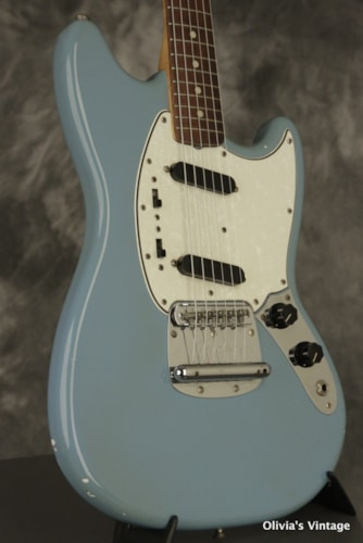 1965 Fender Mustang BLUE with L-plate!!!