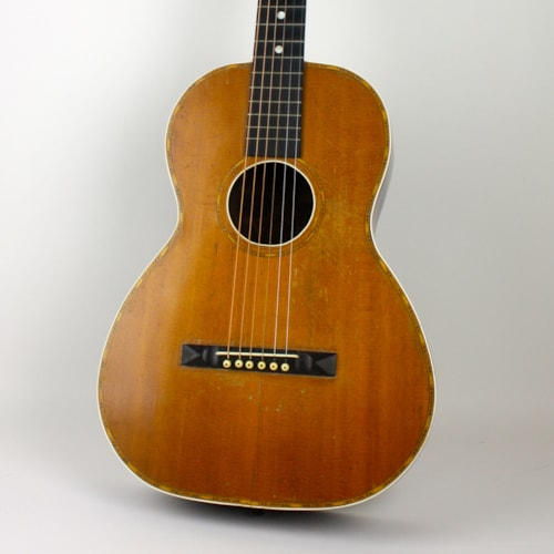 1900 Unbranded Parlor w/ Brazilian Rosewood Natural, Good, Hard, $1,349.00