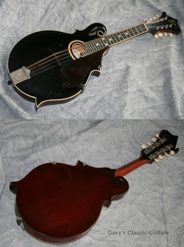 1911 Gibson F-2 (#GIA0446) Black, Excellent, Hard, Call For Price!