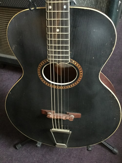 1912 Gibson L 4 Archtop Acoustic Black Top Gt Guitars