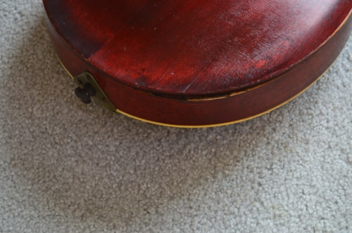 1914 Gibson Style A Natural, Good, Hard, $795.00