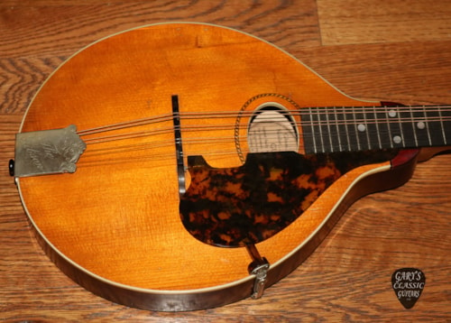 1917  Gibson  Style A  Natural