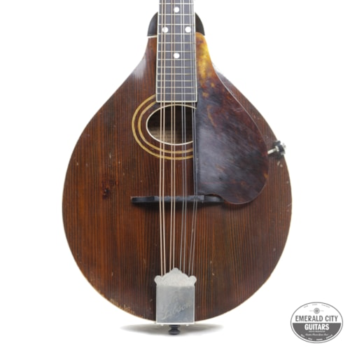 1918 Gibson A-2 Mandolin Natural, Very Good, Original Hard
