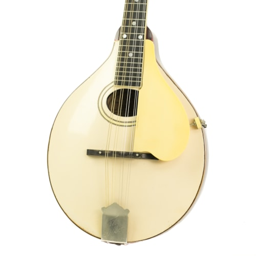 1919 Gibson A3 Mandolin Ivory White Top, Very Good, Original Hard