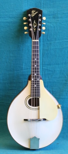 1920 Gibson A-3 White, Excellent, Original Hard