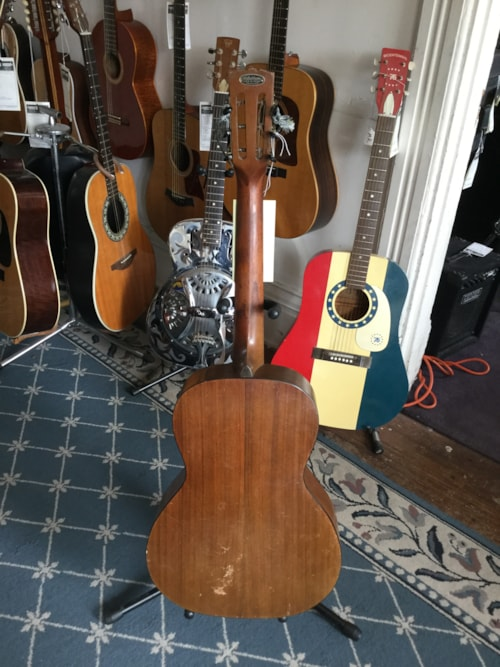 1920 washburn lyon healy tonk brothers acoustic guitar natural guitars acoustic mikes music. Black Bedroom Furniture Sets. Home Design Ideas