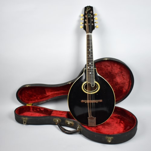 1923 Gibson  A-4 Lloyd Loar Era Acoustic Mandolin Black, Good, Original Hard, $3,995.00