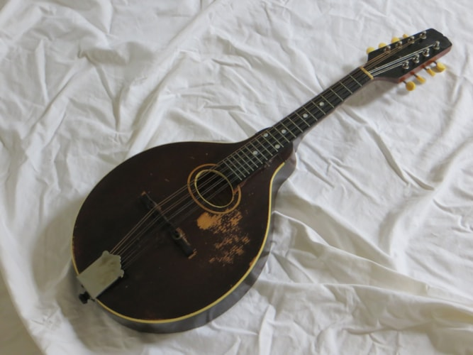 1923 Gibson A Brown, Very Good, Hard, Call For Price!