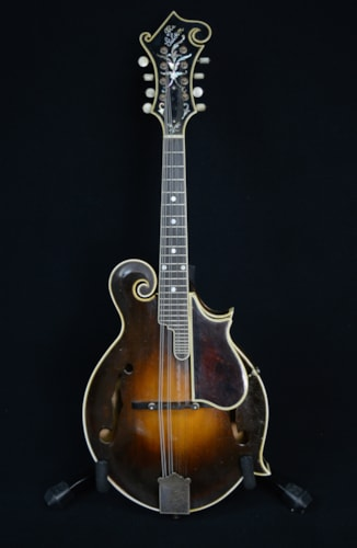 1924 Gibson F-5 Fern Lloyd Loar signed Sunburst, Excellent, Original Hard