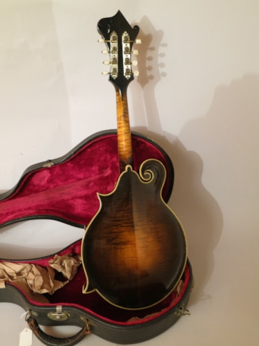 1924 Gibson F-5 Sunburst, Excellent, Original Hard