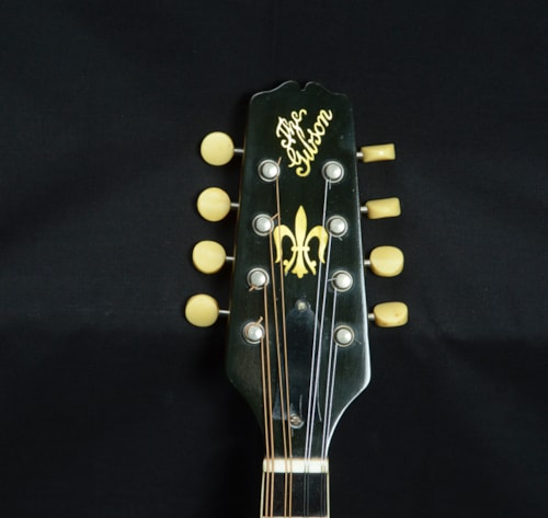 1925 Gibson A-4 Snake Head Mandolin Blonde