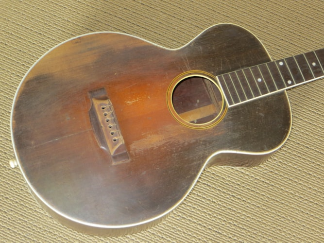 1928 Gibson L-2 sunburst, Good, Hard, Call For Price!