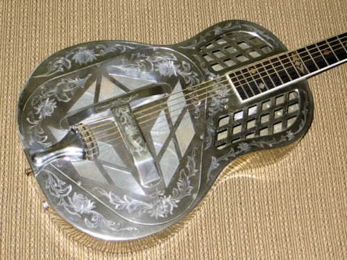 1928 National style 4 Tri-Cone  plated, Very Good, Original Hard, Call For Price!