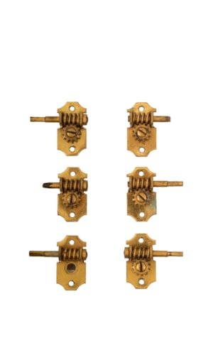 1930 Grover Tuner Set Parts Gold