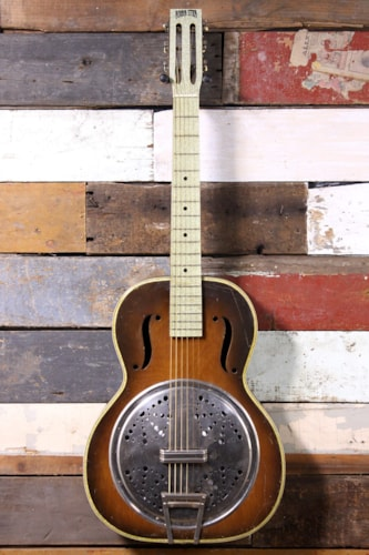 1930's Radio Star Resonator Sunburst
