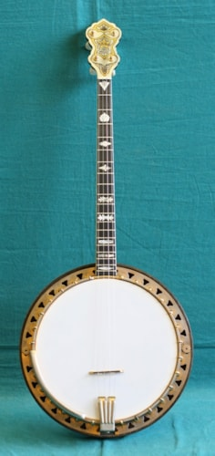 1931 Vega ARTIST TENOR BANJO Excellent, Original Hard
