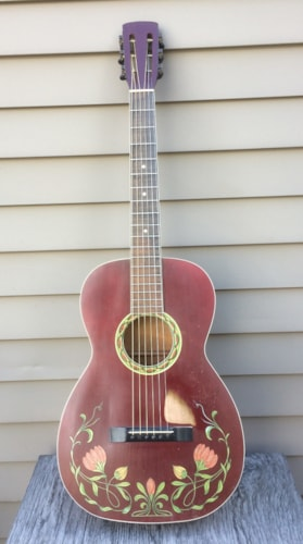 1932 unknown Decalcomania Red, Excellent, Soft, $825.00