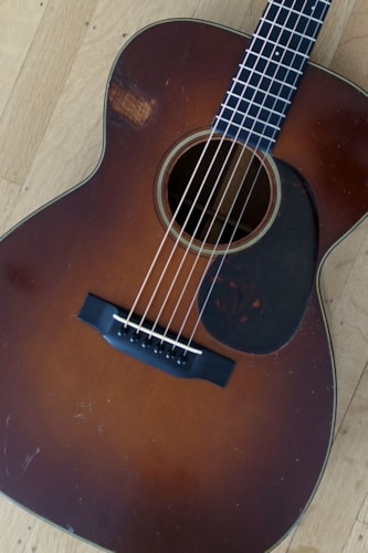 1933 C. F. Martin OM-18 Shaded, Excellent, Hard, $18,500.00