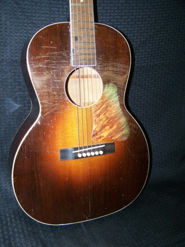 "1934 Regal ""Kleartone"" Gem Burst, Good, Hard, $1,250.00"