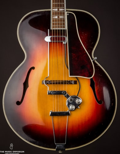 1935 Gibson L-10 Sunburst, Very Good, Hard, $3,750.00