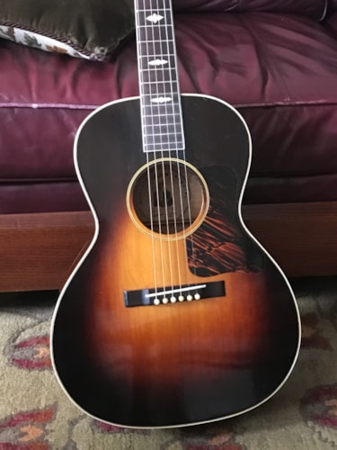 1935 Gibson Nick Lucas Sunburst, Excellent, Original Hard