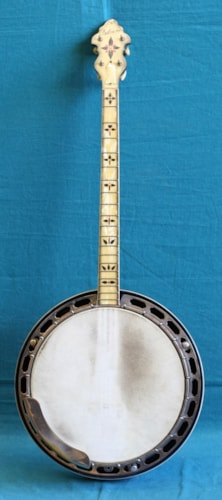 1935 Gibson TB-11 TENOR BANJO Excellent, Original Hard