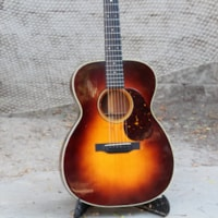 1935 Martin c-1 conversion to 000-18 style