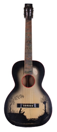 ~1935 Regal Parlor Acoustic  Grey