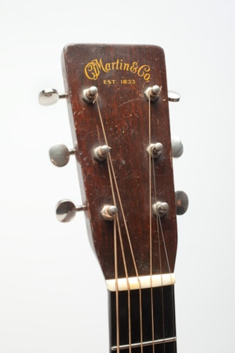 1936 C. F. Martin D-18 Natural, Excellent, Hard, Call For Price!