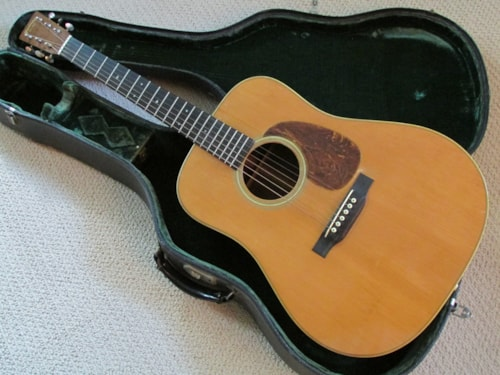 1936 CF Martin D-28 Natural, Very Good, Original Hard