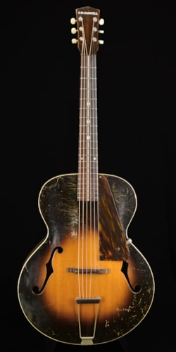 1936 Cromwell G4 Sunburst, Very Good, Hard