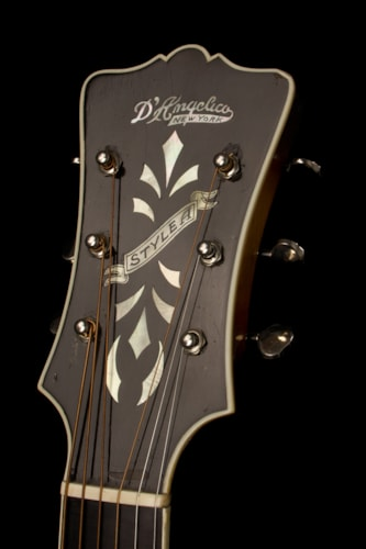 1936 D'Angelico Style A Sunburst, Excellent, Original Hard, Call For Price!