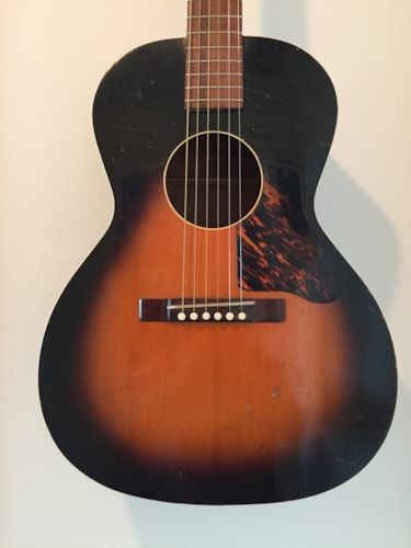 1936 Gibson - Kalamazoo KG14 Sunburst, Excellent, Hard, Call For Price!