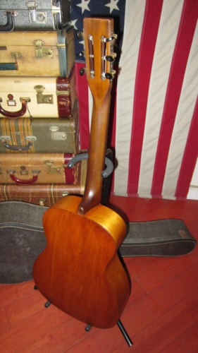 1936 Harmony Stella Parlor Guitar Natural, Excellent, Soft, $395.00