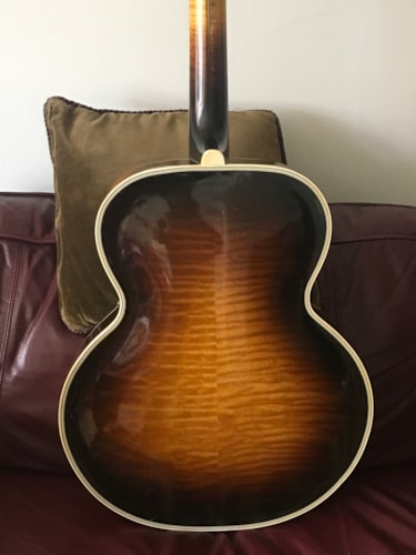 1937 D'Angelico Excel Sunburst, Excellent, Original Hard, Call For Price!