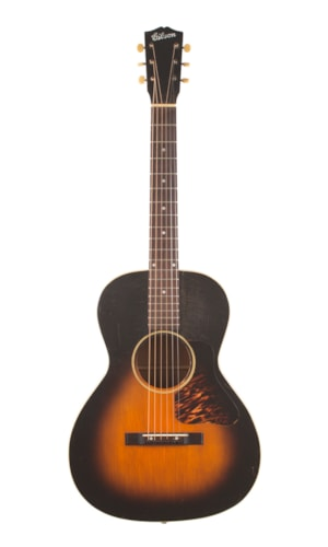 1937 Gibson HG-00 Sunburst, Excellent, Hard, $5,995.00