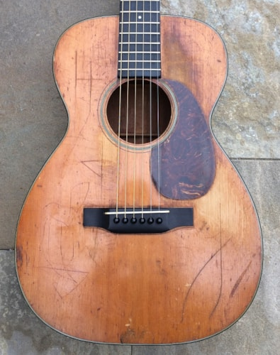 1937 Martin 0-18 Natural, Good, Hard, $3,975.00
