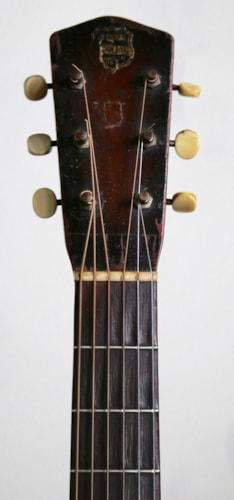 """1937 National """"piano finish"""" Duolian faux grained brown, Very Good, Soft"""