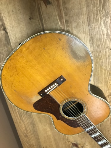 1938 Bronson Jumbo Honolulu master  Excellent, Original Hard, $7,000.00