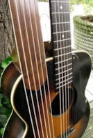 1938 Regal R90 Archtop Harp Guitar